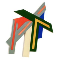 Build a painting. Frank Stella.