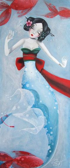 ♥ Geisha Mermaid Sybile