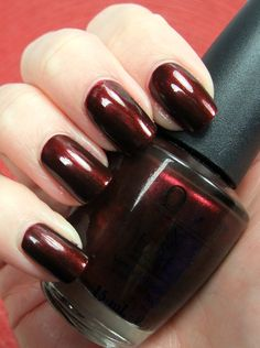 OPI Royal Rajah Ruby-This shade is retiring this year so grab it if you don't already have it.