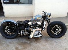 Bobber Inspiration   HD Knucklehead Bobber byKris Kustom Cycles   Bobbers and Custom Motorcycles