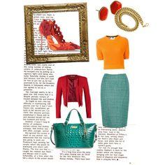Crazy colours by mchiviredzuwah on Polyvore featuring polyvore, fashion, style, MSGM, Closet, Dickins & Jones, Sergio Rossi, Brahmin and Diane Von Furstenberg