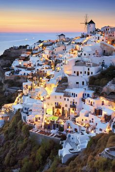Oia, Santorini, Greece - This is where we went in Oct 2013 on our Venetian Voyage that I earned from helping others
