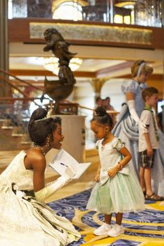 One day.......I will take my daughter to Disney Land to have tea with the princesses.