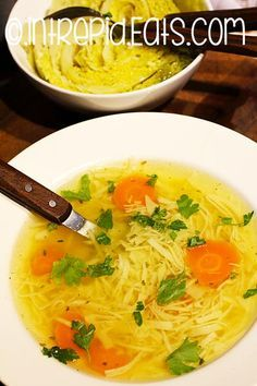 Romanian chicken noodle soup – Famous Last Words Sicilian Recipes, Greek Recipes, Romanian Recipes, Chicken Noodle Soup, Chicken Soup Recipes, Chicken Gnocchi, Romanian Food Traditional, Family Meal Planning, India Food