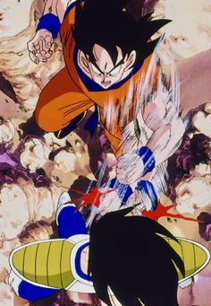 Dragon Ball Z, Goku Vs, Son Goku, Anime, Dbz, Retro, Character Design, Animation, Fan Art