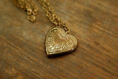 vintage heart $12