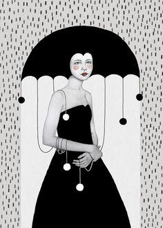 """artisticstuffetc: """" #Paintings & Art# Illustrations by Sofia Bonati via Tumblr """""""