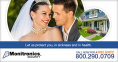 Monitronics Home Security offers suggestions for reducing wedding stress.