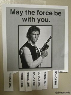Star Wars Classroom, Video X, All The Things Meme, Star Wars Party, Star Wars Humor, Wedding Humor, Funny Signs, Puns, Jokes