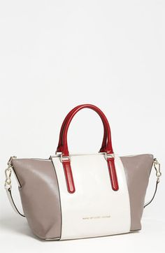 MARC BY MARC JACOBS 'Large' Leather Satche