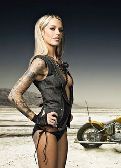 Biker chick..