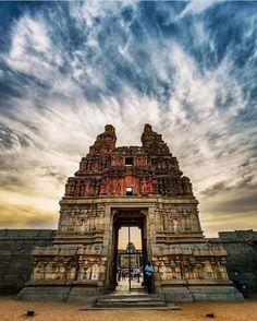 Vijaya Vittala Temple, Hampi, Karnataka. #Vijaya #Vittala