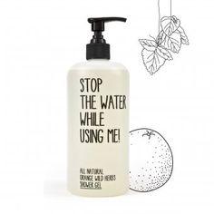 #design3000 Stop The Water while using Me! Ruft uns zum Wassersparen auf.