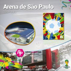#Brasil2014 || Conoce el Arena De Sao Paulo  + Poster + Ciudad + Partidos que albergará  >>http://goo.gl/MGhZjw