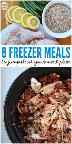 8 Freezer Meals to Jumpstart Your Meal Plan