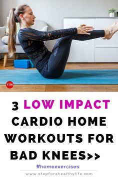 Are you starting to home full body workout at home and have knee pain?or just to reduce the impact on your knees? Or you have painful bad knees and high-impact exercise just isn't in your future…at all? TRY THESE EASY FULL BODY NON-IMPACT & no jump WORKOUTS 👍 Workouts to do at home,workout at home,workout for women,home workouts,motivated to workout,strength,belly fat,strength motivation,workout for beginners workout beginners,weight loss,low impact cardio workout,bad knees,10 minutes…