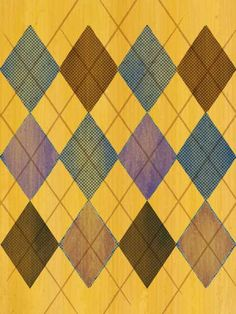 This could be cute for a fall pattern paper. Argyle print