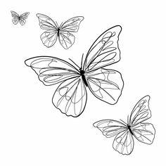 Bone Tattoos, Line Art Tattoos, Body Art Tattoos, Tatoos, Cute Tiny Tattoos, Dainty Tattoos, Small Tattoos, Butterfly Tattoos On Arm, Butterfly Drawing