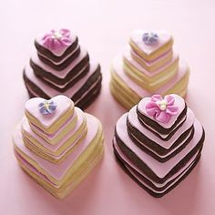 Alternatives to Wedding Cake - Cookie Couture Heart Cookies