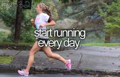 OMG yes!!! I would love to start running!! then i can join the cross country club next year!!!!!!
