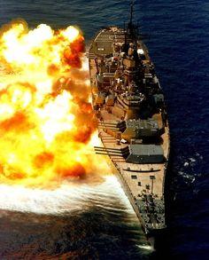 USS Iowa battleship, US Navy (decommissioned).