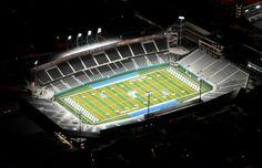 Yulman Stadium; Tulane University Green Wave -- New Orleans, LA.