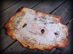 The Goonies Prop Replica Treasure Map for Pirates to Find Chests Full of Gold 2 | eBay