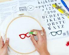Haz tu bordado con aguja mágica KIT + taller online