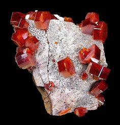 Vanadinite from Morocco