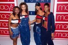 Tommy Hilfiger outfits from the Fashion Kids, Fashion Male, Hip Hop Fashion, Girl Fashion, Fashion Outfits, Womens Fashion, 50 Fashion, Fashion In The 90s, Fashion 2018