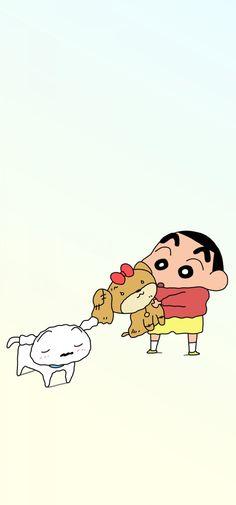 Crayon Shin Chan, Iphone Wallpaper, Snoopy, Cute, Fictional Characters, Books, Wallpaper For Iphone, Libros, Kawaii