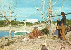 Historia de Formentera en papel: Cala Saona años de 1960 1ª parte