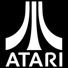 Atari Logo Vinyl Decal Sticker gaming pacman invader asteroid pong 029