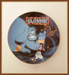 Walt Disney Aladdin Plate A Friend Like Me by bettysworld4u