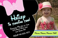 Minnie Mouse Party Invite