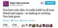 That is, if you assume that reality is even real. Also, you should be listening to Welcome to Night Vale already.