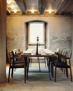 De mooiste Woonwinkel van Twente : POTZ WONEN. www.potzwonen.nl  Dining room table and chairs.