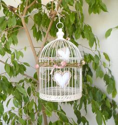 Shabby Birdcage de LeCoseAnimate Breslo #heart #love