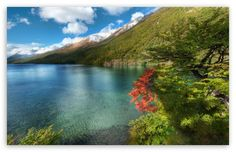 Lake In Argentina HD desktop wallpaper : High Definition : Fullscreen : Mobile : Dual Monitor