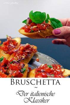 Bruschetta ~ The Italian classic - FOOD - recipes Healthy Sandwiches, Sandwiches For Lunch, Sandwich Recipes, Tartiflette Recipe, Smoothie Recipes, Italian Recipes, Quesadillas, Healthy Snacks, Easy Meals
