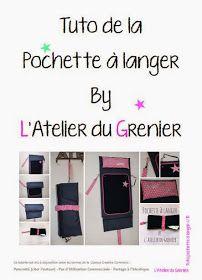 Tuto de la pochette à langer by L'atelier du Grenier