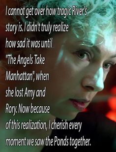 """and after """"The Angels Take Manhattan""""...we only see River as an echo"""