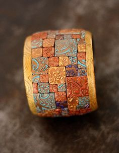 Tanya Mayorova. polymer mosaic