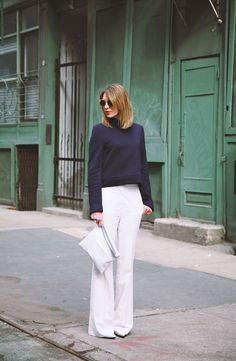 Apartment 34 | Monday Work Wear: {White After Labor Day}