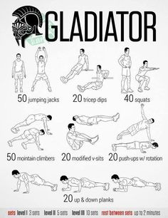 This is what I do :o except I also do weights, foot inclined sit-ups, L-sits, push-ups, and air plank