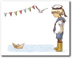 Notes z pomysłami: Marynarskie pożegnanie przedszkola :)