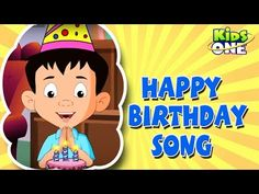 Happy Birthday Nursery Rhymes English Animated Rhymes Happy Birthday to you is THE most popular rhymes of English. Kids love to hum. Birthday Songs, Moral Stories, Rhymes For Kids, Happy Birthday Greetings, Kids Songs, Nursery Rhymes, Telugu, English, Animation