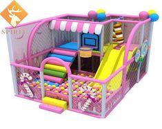 Toddler Indoor Playground, Kids Indoor Playhouse, Diy Playground, Playground Design, Playhouse Plans, Indoor Slides, Kids Tents, Home Daycare, Kids Room