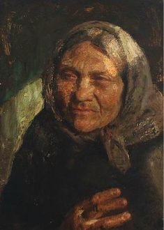 Old Fisherman's Wife from Skagen by Julius Paulsen. Oil on canvas. Canvas Size, Oil On Canvas, Old Fisherman, Skagen, Danish, Mona Lisa, Artists, Fine Art, Artwork