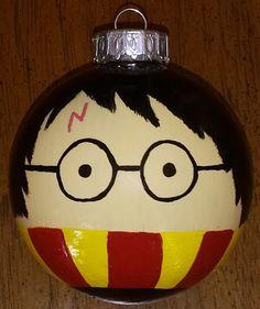 Harry Potter Ornament by LastYesterday on Etsy, $10.00
